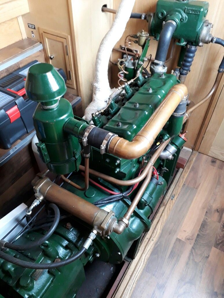 Boat Engine Room: Perkins 4270 In NB Billy's Engine Room