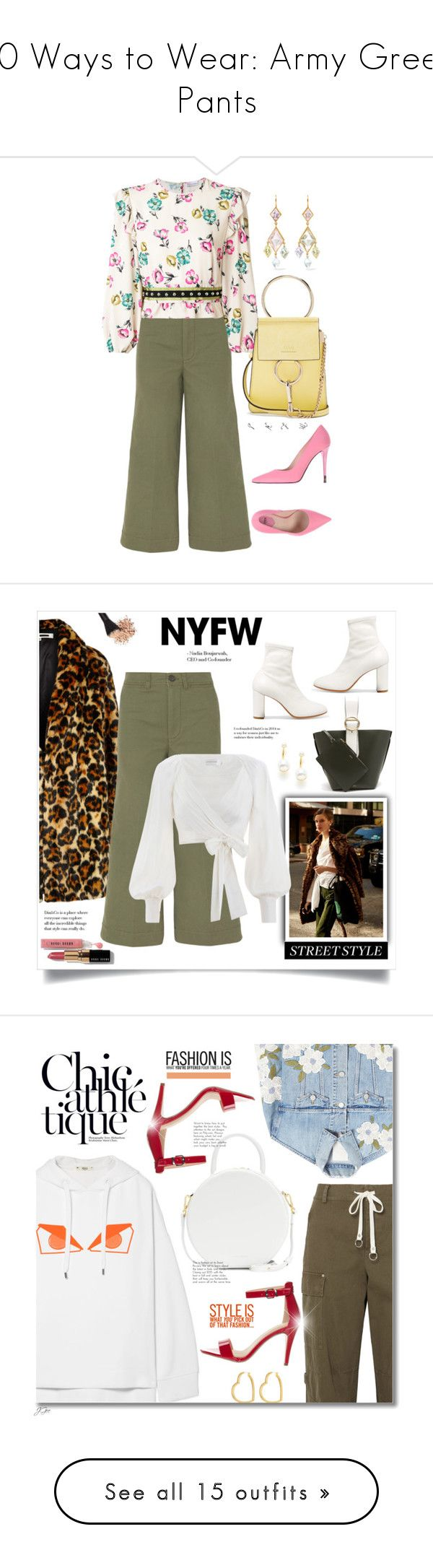 Fashion week How to green wear pants polyvore for lady