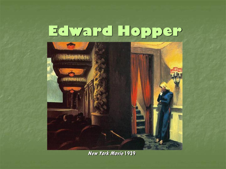 edward hopper Edward Hopper Download as PowerPoint