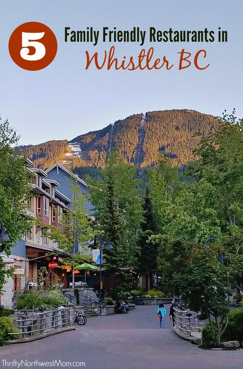 Whistler Bc Restaurants 5 Family Friendly In Ways To Save On Food At