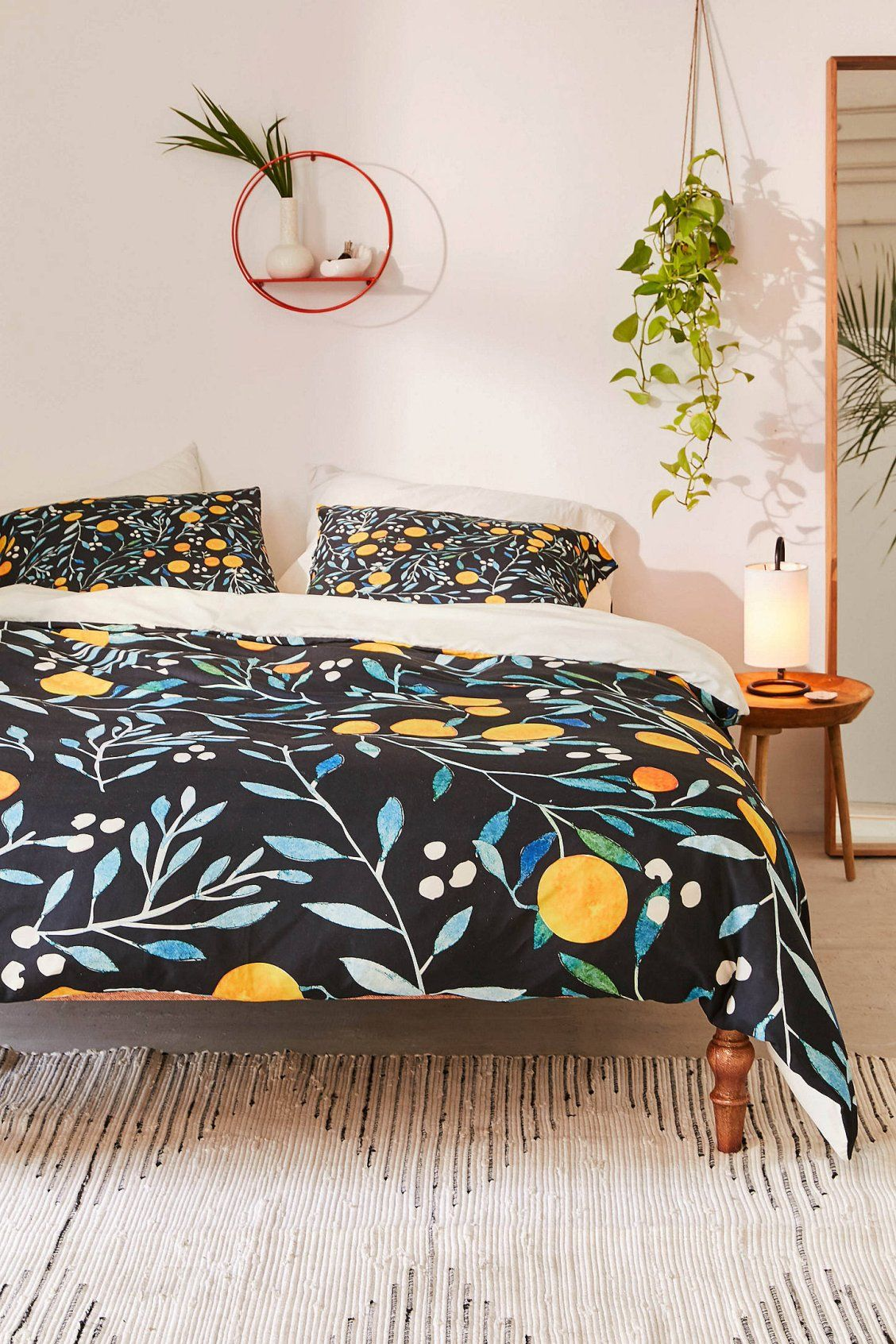 Ilsa Monttinen For Deny Orange Mania Duvet Cover Random