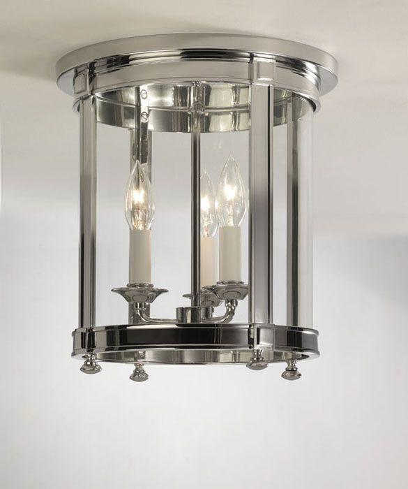 2nd floor hallway light fixtue z polished nickel idlewood electric