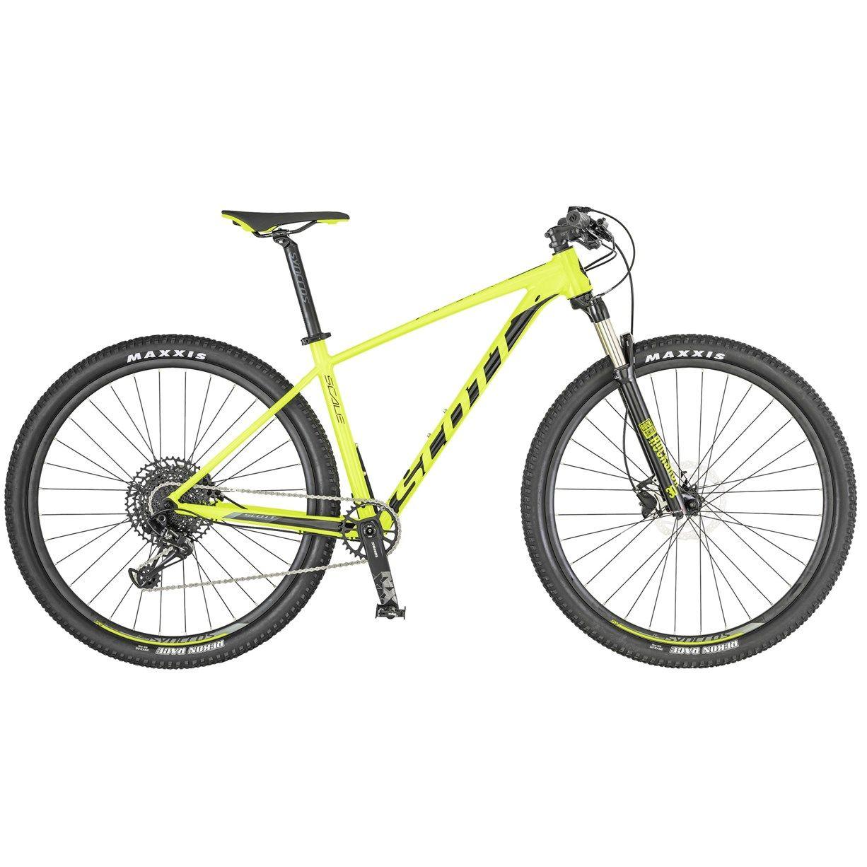 Scott Scale 980 2019 Hardtail Mountain Bike Yellow Black
