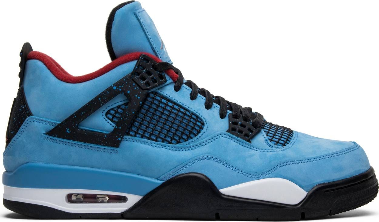 Travis Scott X Air Jordan 4 Retro Cactus Jack With Images