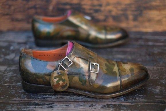 camo dress shoes mens