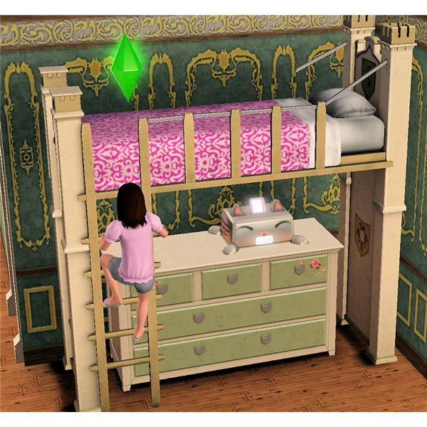 Tiny House 3 Kids Sims In Bunk Beds Is Double The Fun