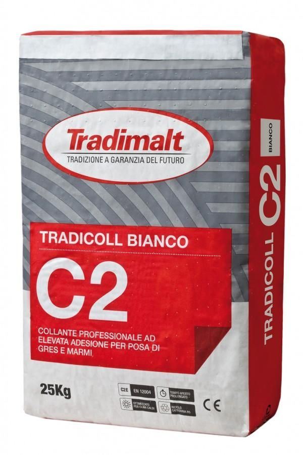 C2 Bianco - Intonaco isolante malte intonaci edilizia premiscelati cementizi - Tradimalt SpA