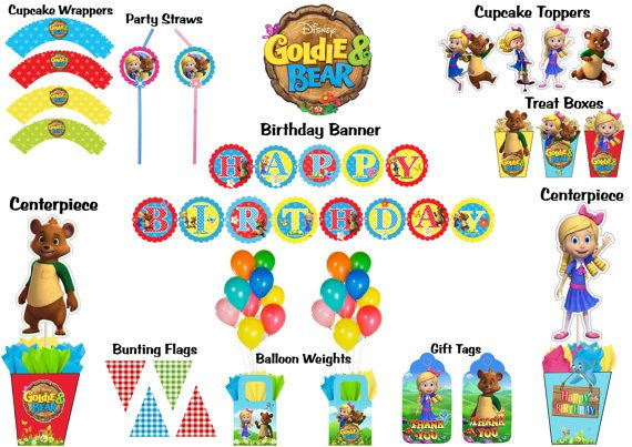 22 Goldie And Bear Birthday Party Ideas Bear Birthday Party Bear Birthday Birthday Party