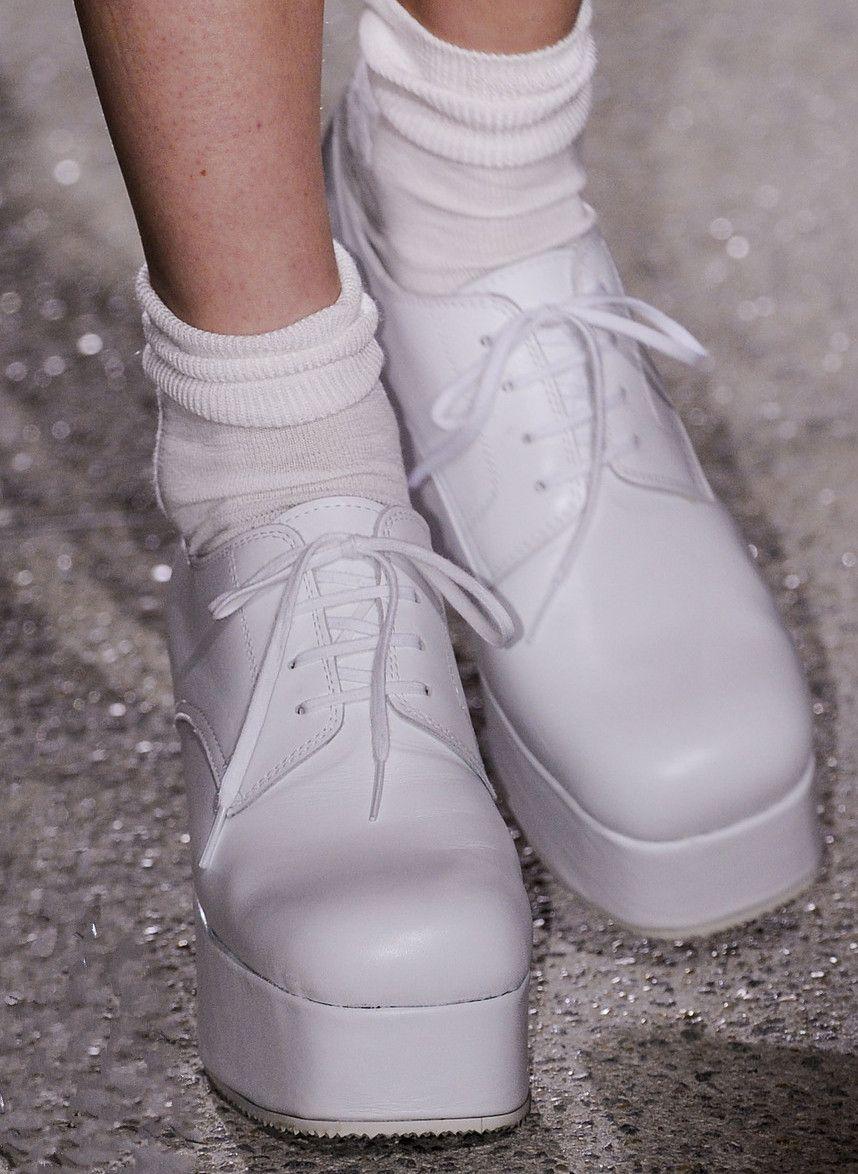 lamorbidezza:  Shoes at Commes des Garcons Spring 2013