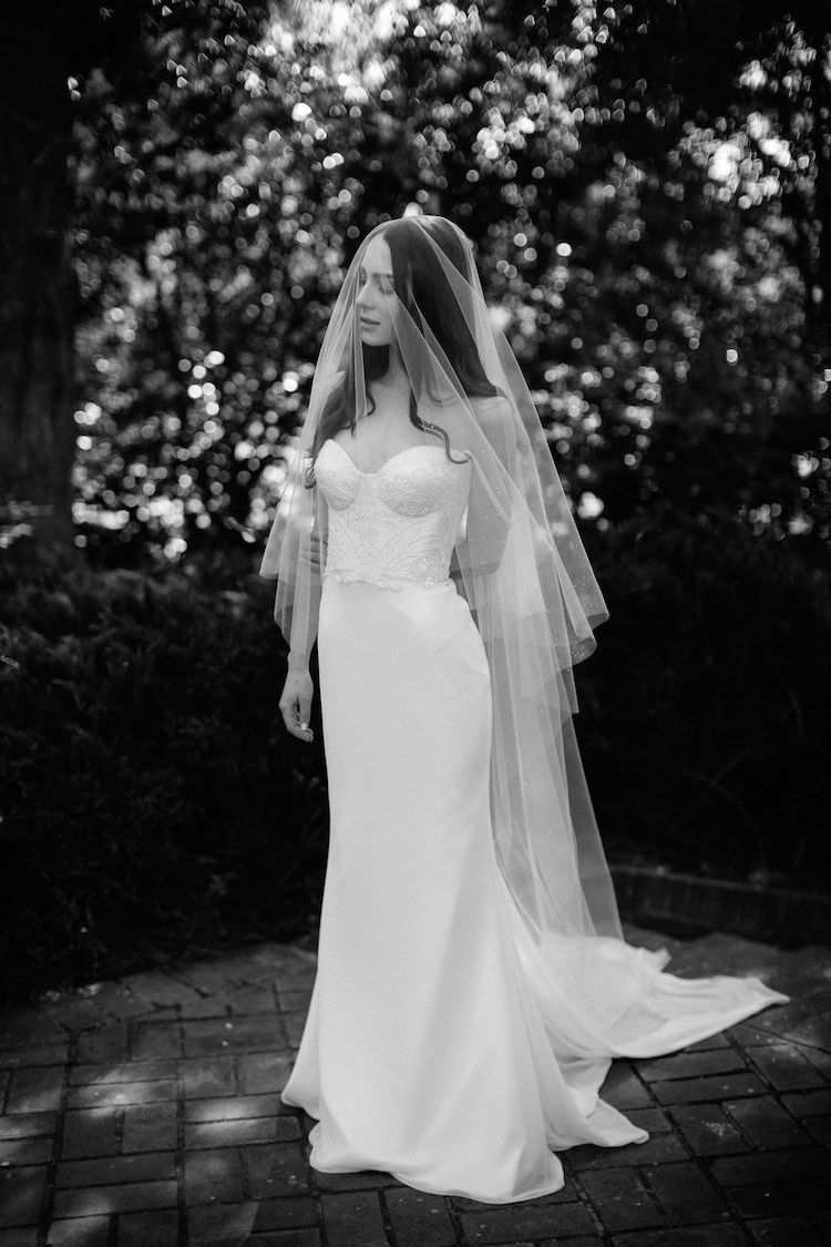 Long veil wedding dresses  Hint of Magic  Wedding  Pinterest  Wedding veils Wedding and Veil