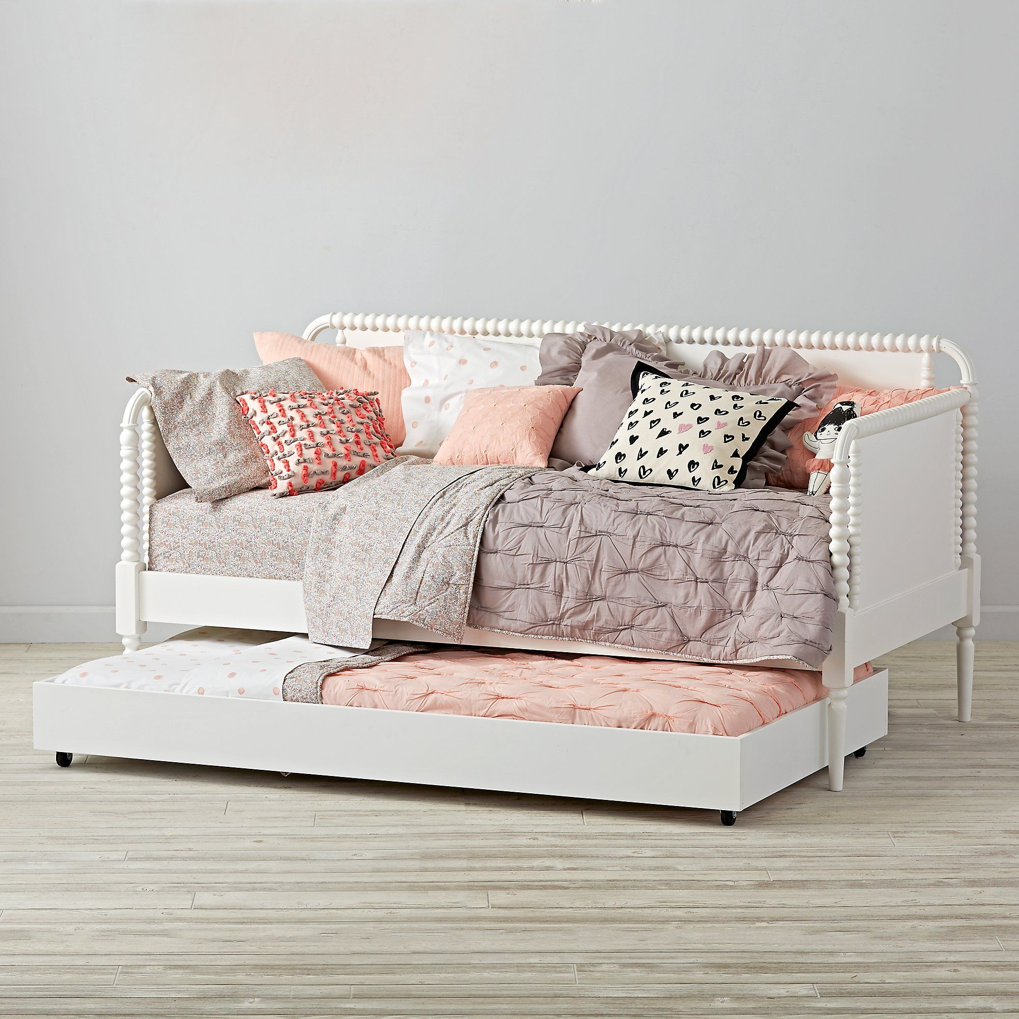 Jenny Lind Kids Daybed (White) Crate and Barrel Girls
