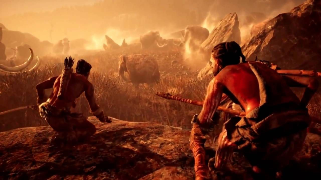 Farcry Primal Trailer Full Hd 1080p Far Cry Primal World Of Darkness Ancient Humans