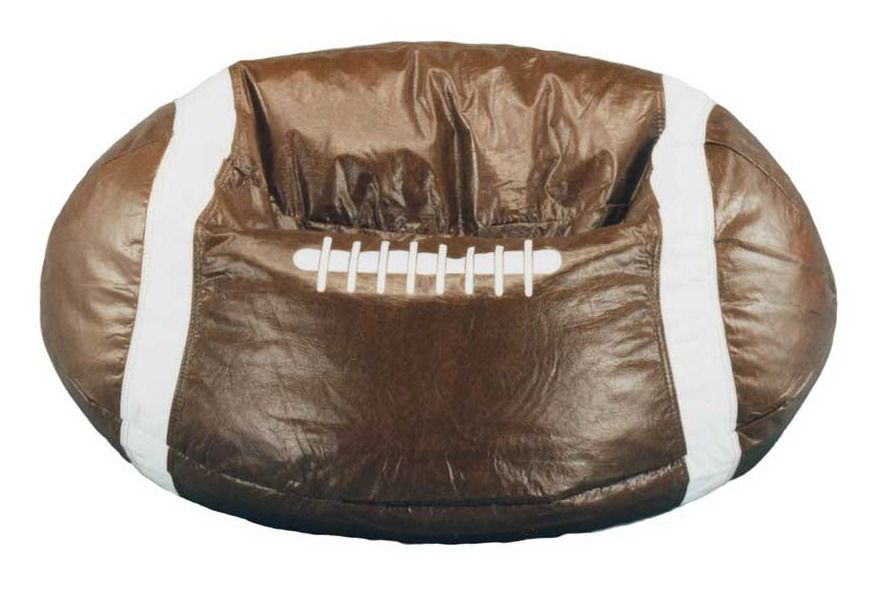 Elite Products Sports Theme Bean Bag Football Bean Bag Bean Bag Chair Cool Bean Bags