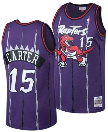 the latest 33403 296e4 Big Boys Vince Carter Toronto Raptors Hardwood Classic ...
