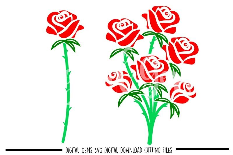 Download Free Rose Svg Dxf Eps Png Files Crafter File in 2020 (With ...
