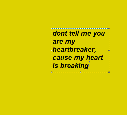 Aesthetic Yellow Tumblrgirls Quote Frase Sad Heart