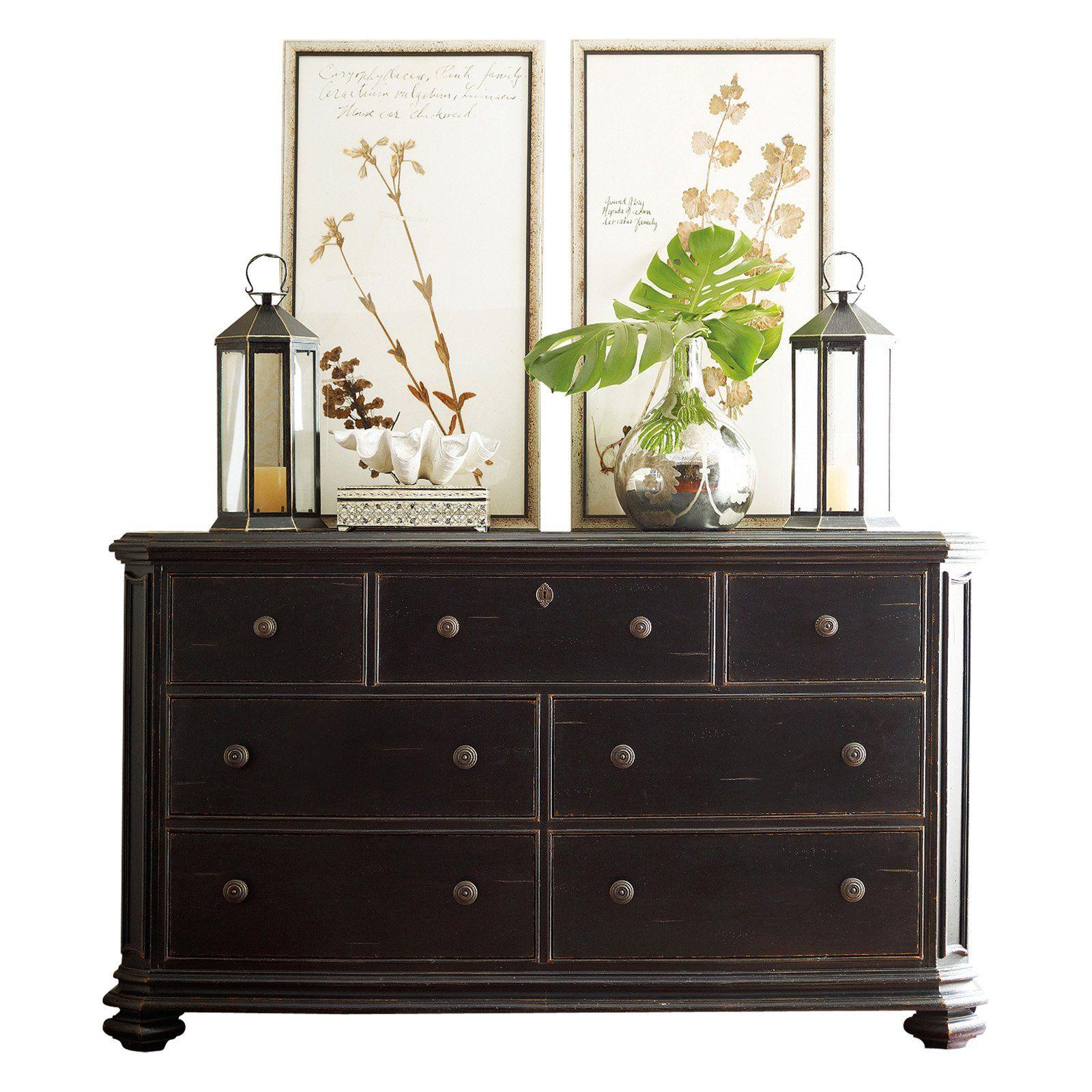 Stanley Continental Bedroom Triple Dresser Ebony 128-83-05 - $1719 @hayneedle. Guest room dresser?