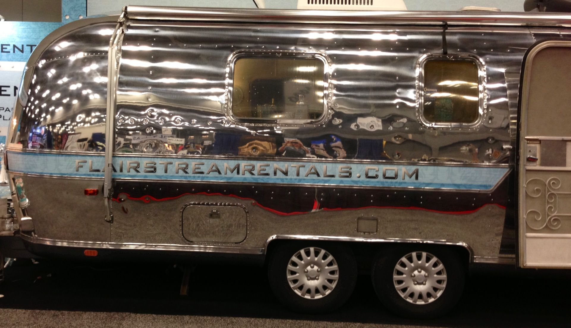 Announcing flairstream a luxurious vintage airstream