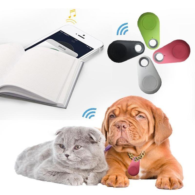 Smart GPS Kids Anti-Lost Waterproof Bluetooth Keys Wallet Pets Tracer Equipment