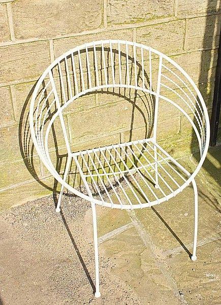 Merveilleux Briggs Oliver Antiques Holmfirth Huddersfield West Yorkshire Rh Pinterest  Com Vintage Wire Chair Antique Wire Garden Chair