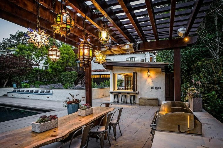 Luminarias diseño para exteriores mágicos y acogedores Iluminación - diseo de exteriores