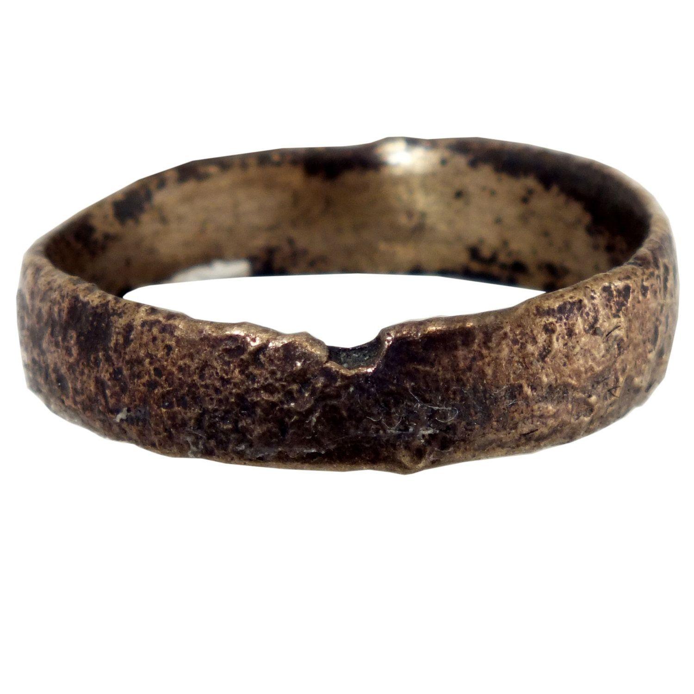 Viking wedding band of gold over bronze circa 900 CE
