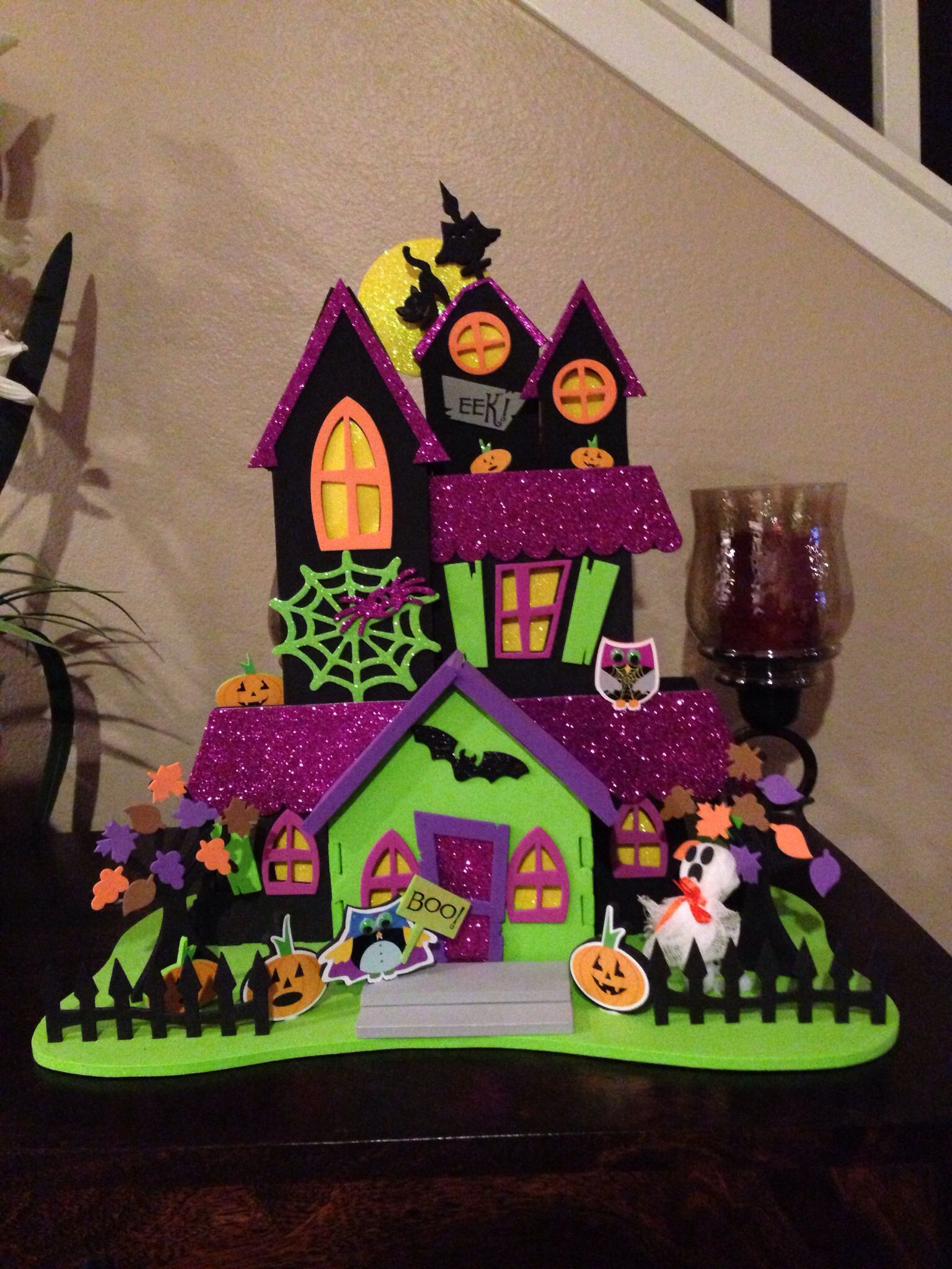 foam haunted house halloween house decor pinterest haunted