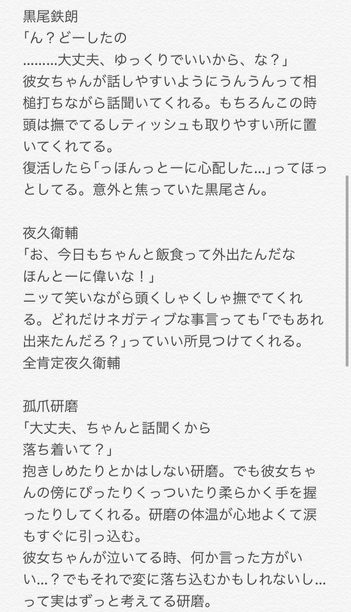 小説 ハイキュー 夢