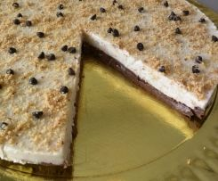 Cheesecake alla nocciola e cacao