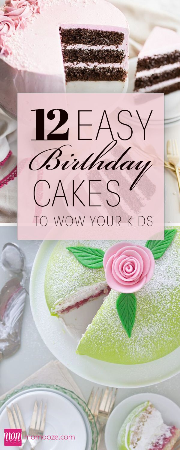12 Easy Healthy Birthday Cakes That Will Wow Your Kids Healthy