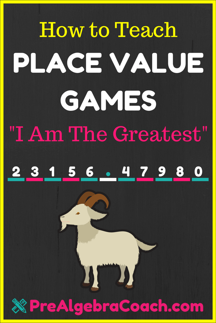 Place Value Games - PreAlgebra Place Value Worksheets Place Value ...