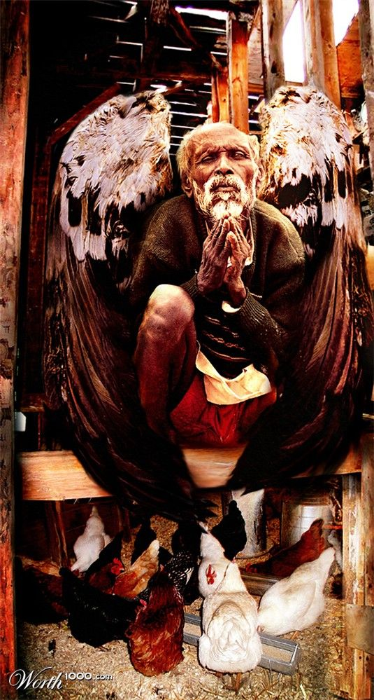 gabriel garcia marquez an old man with enormous wings