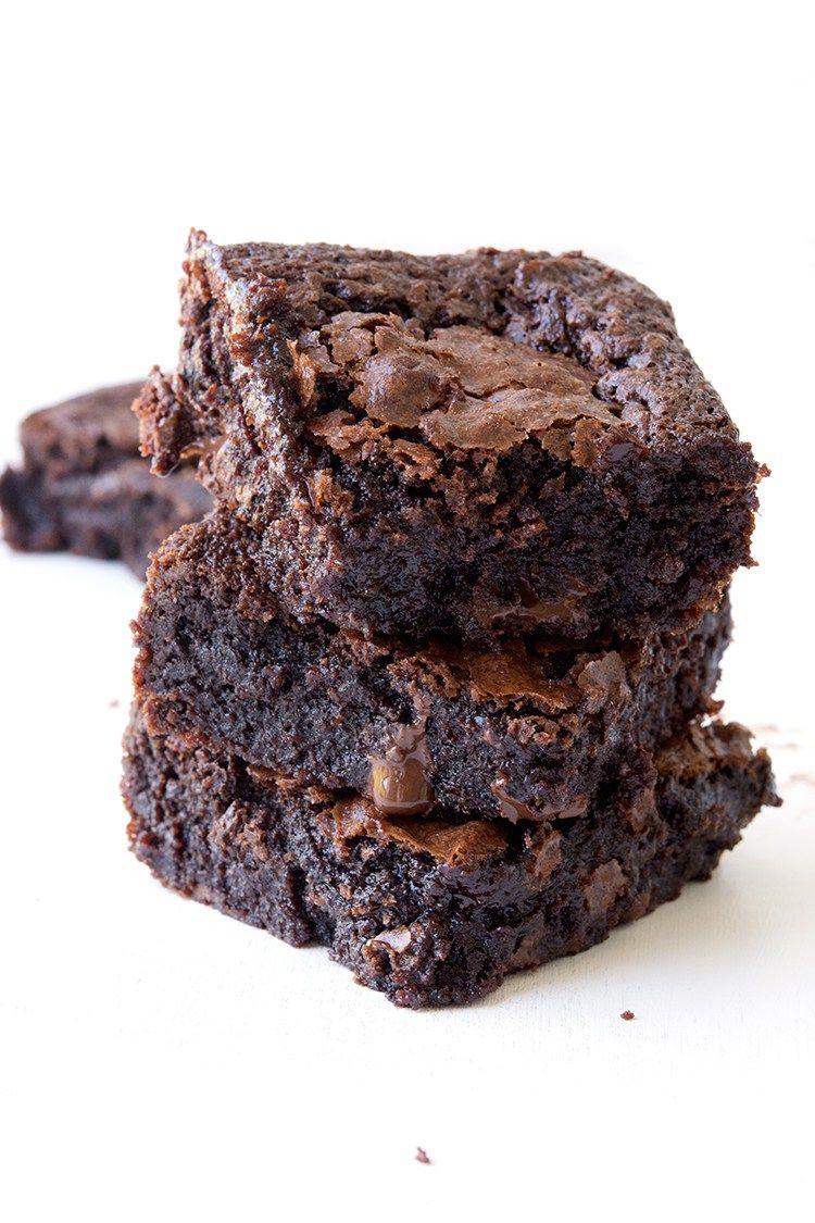 Easy fudgy gluten free brownies recipe gluten free