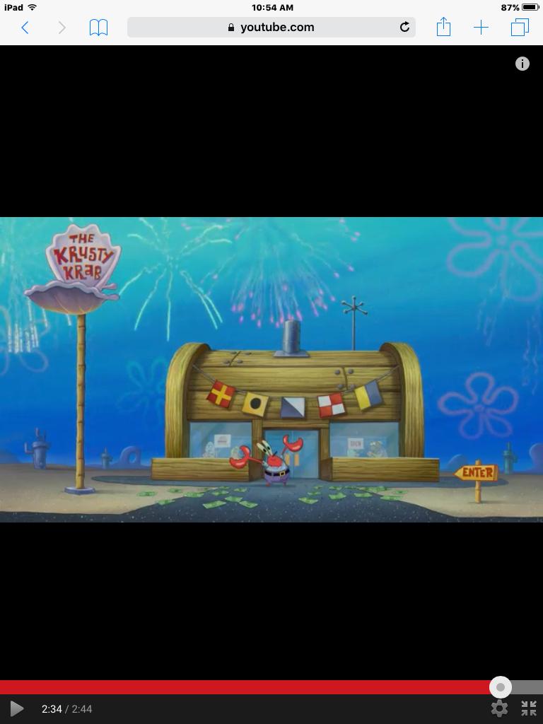 Krusty krab spongebobmovie qi aquaria