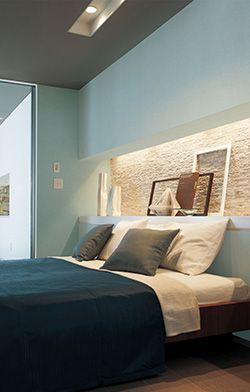 壁紙と天井の合わせ方 壁紙 床材のコーディネート リリカラ株式会社