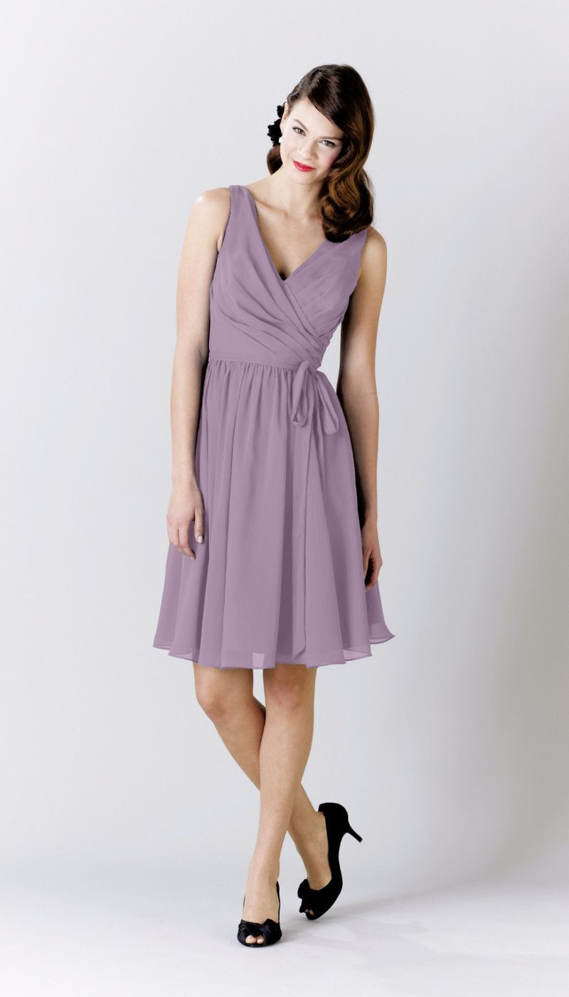 Chloe chiffon bridesmaid dresses chloe knee length bridesmaid dressesblue ombrellifo Image collections