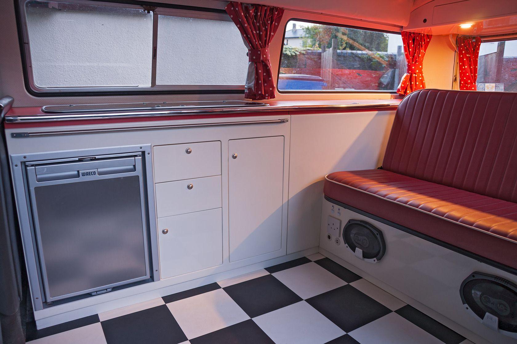 Arredamento Camper ~ Vw bay window t campervan retro interior estaff