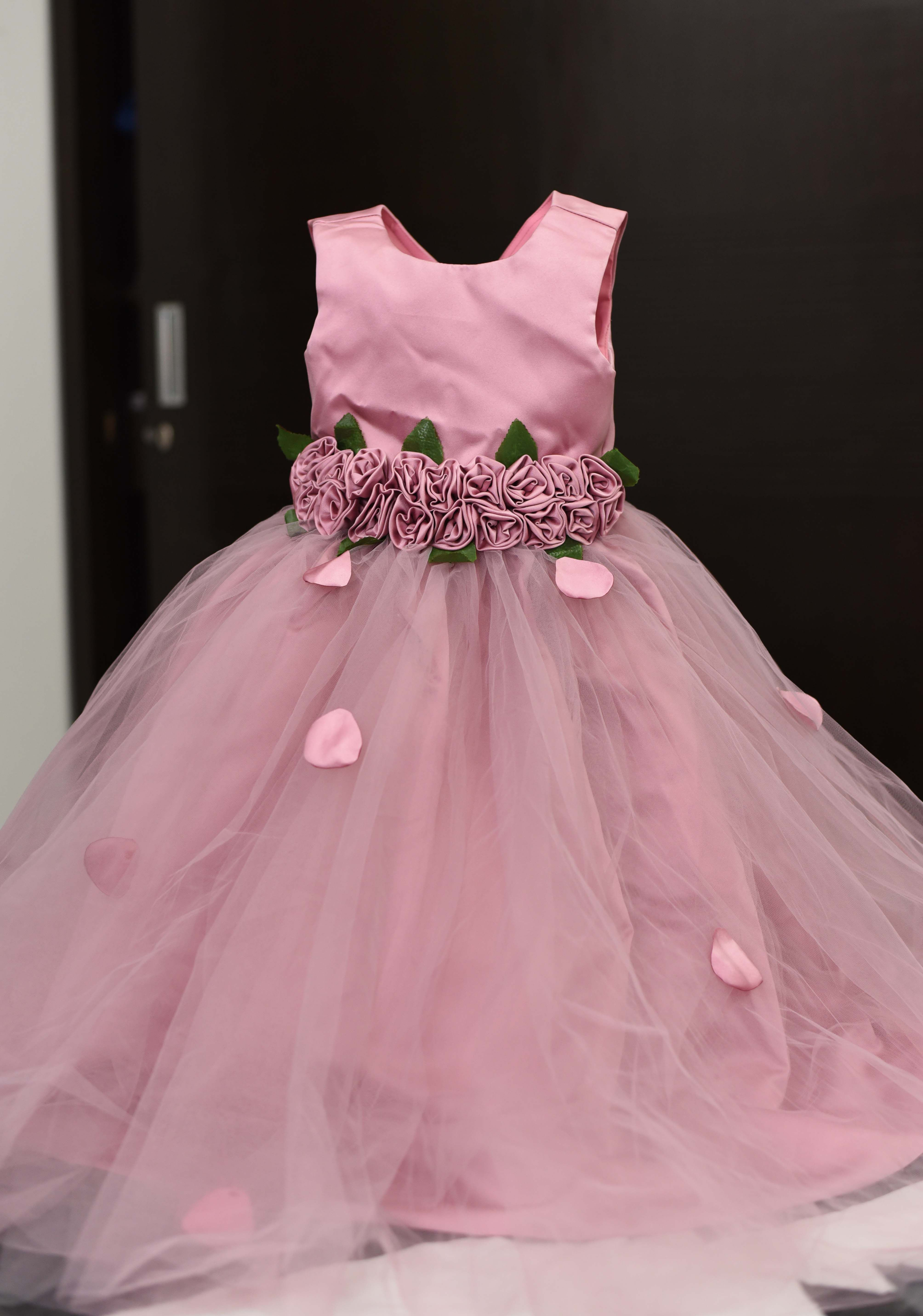 Compre Por Encargo Hermosos Vestidos De Niñas De Flores De Color ...