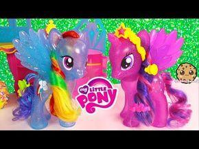 Mlp Princess Twilight Sparkle Rainbow Dash Glitter My Little Pony
