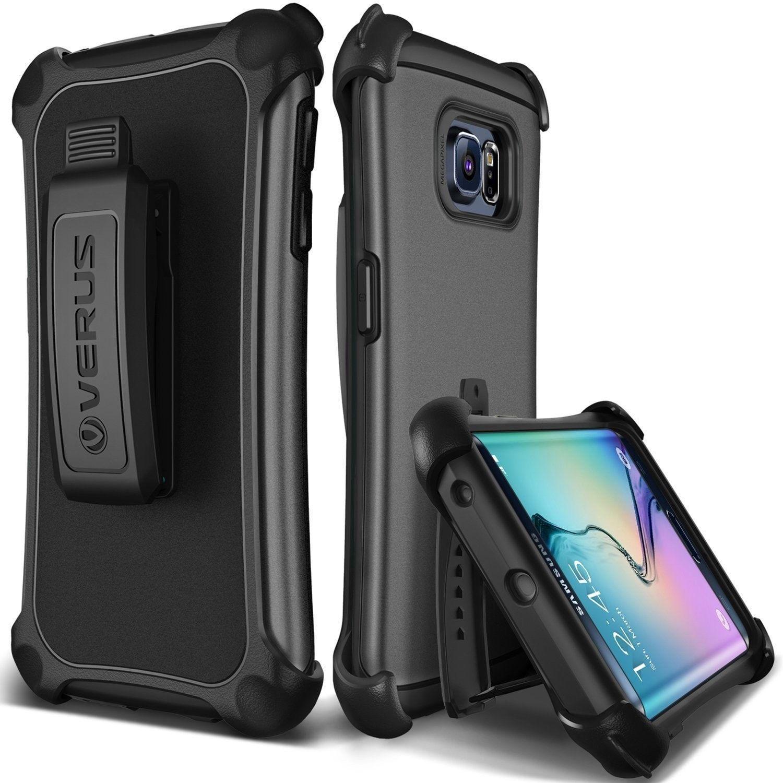 cheap for discount b7730 1d852 Verus Samsung Galaxy S6 Edge Case Thor Active - Titanium Gray ...