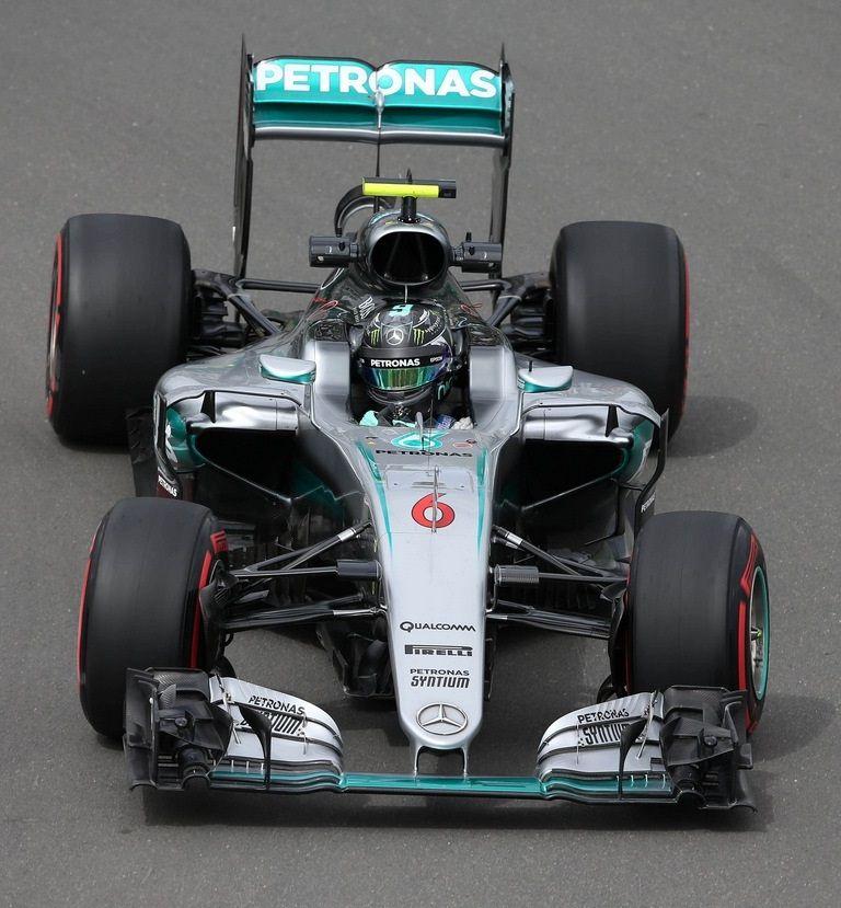 Nico Rosberg (GER) Mercedes AMG F1 W07 Hybrid