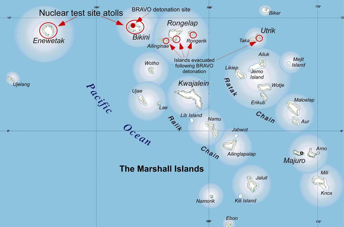 Bikini Island Map
