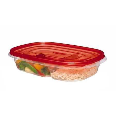 Rubermaid TakeAlongs Divided Rectangle Food Storage Container