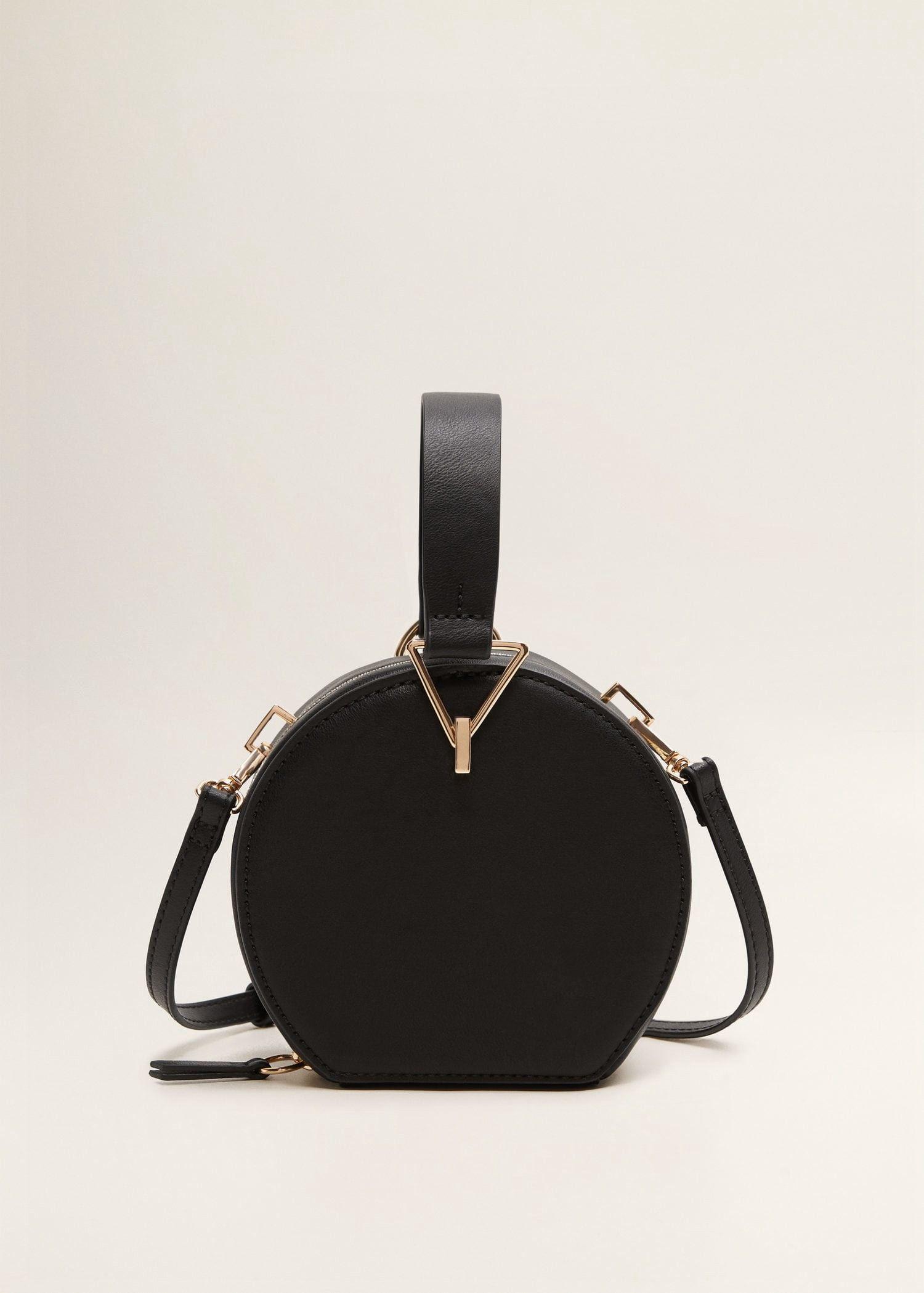 29400183e0 Mango Round Small Bag - Black One Size