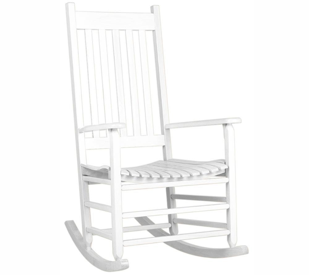Savannah Schaukelstuhl weiß - original amerikanische Gartenmöbel ...