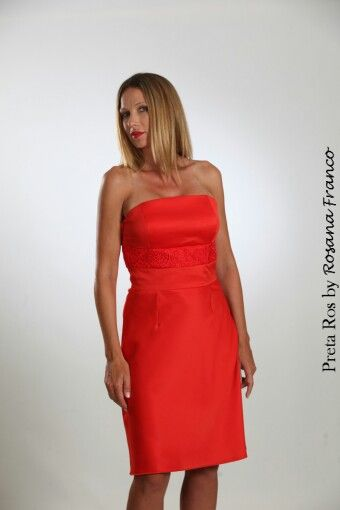 Preta Ros red dress. Classic and chic