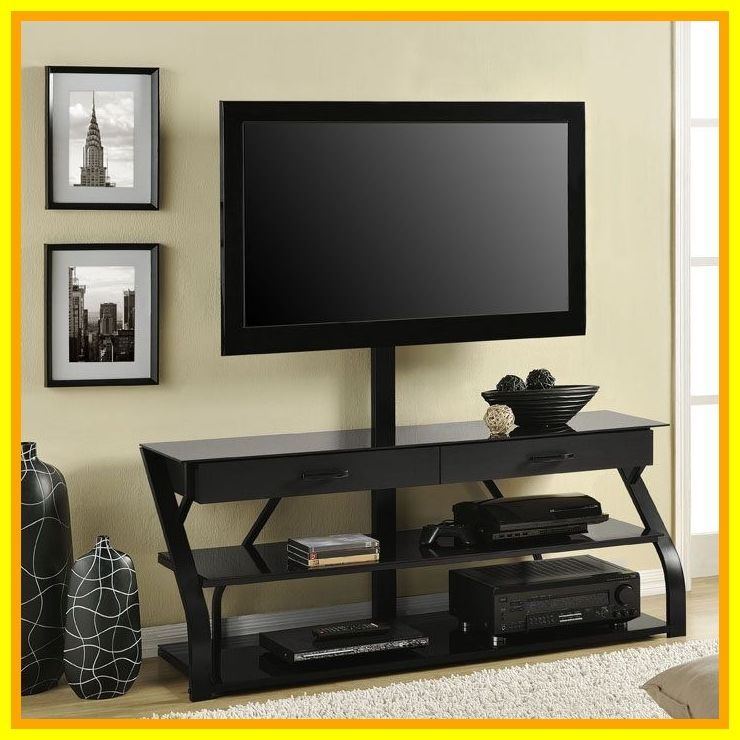 70 Reference Of Black Tv Stand Long In 2020 Tv Stand Decor Glass Tv Stand Bedroom Tv Stand