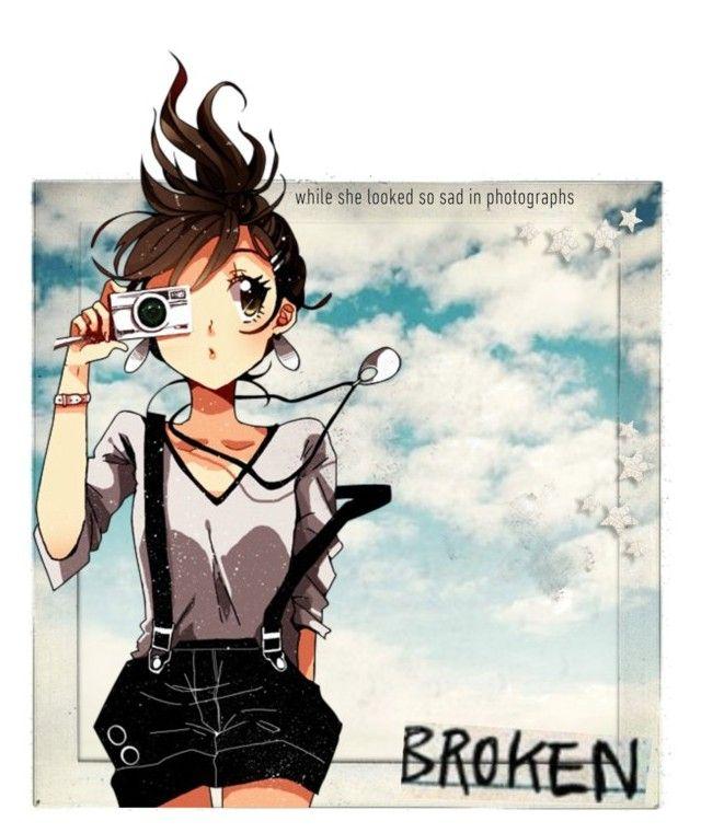 """Polaroid~ (taglist! rtd!)"" by xdarkfirex ❤ liked on Polyvore featuring art and darkfirearmy"