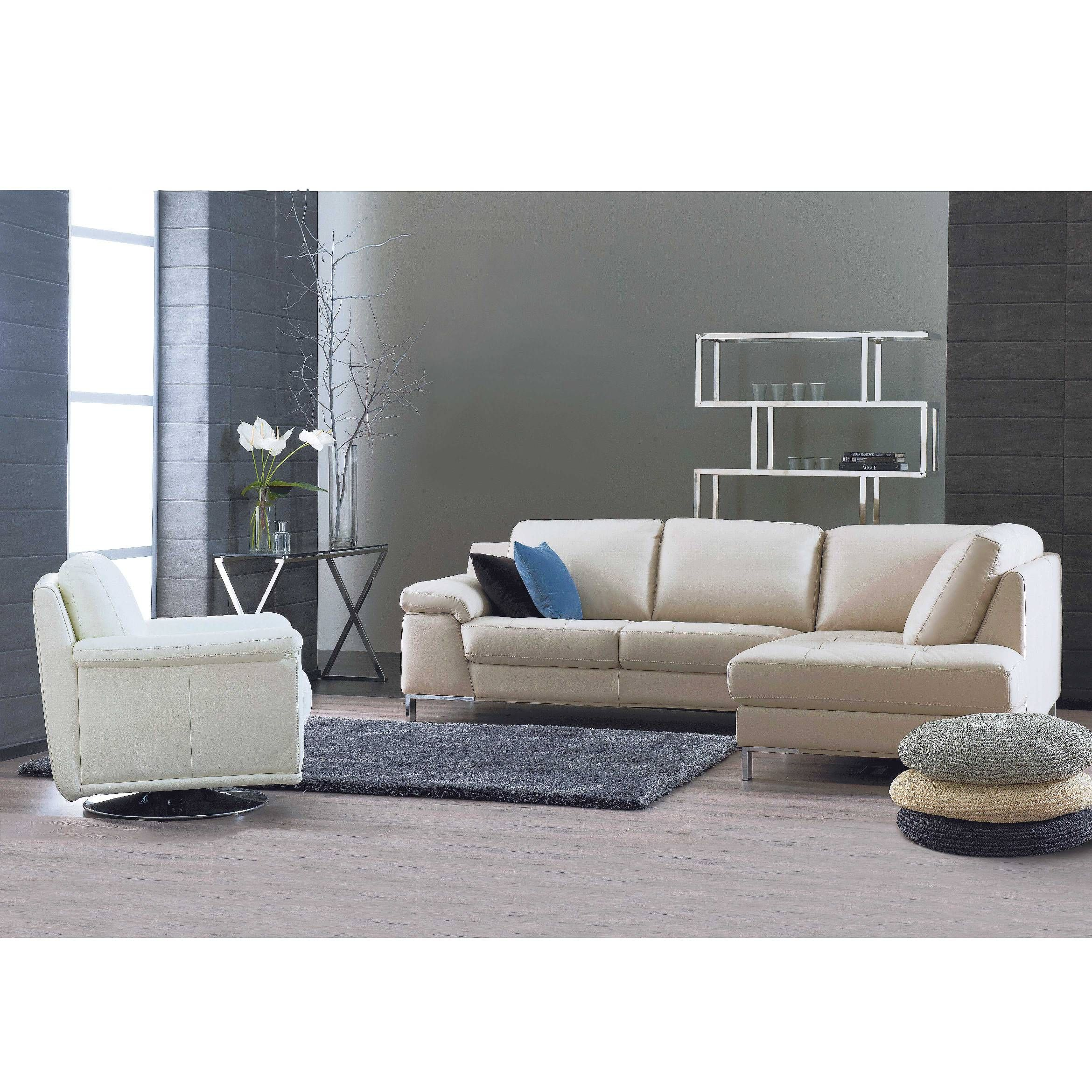 2 Seater Bedroom Sofa: Diva 2.5 Seater Leather Sofa With Chaise And Swivel Chair