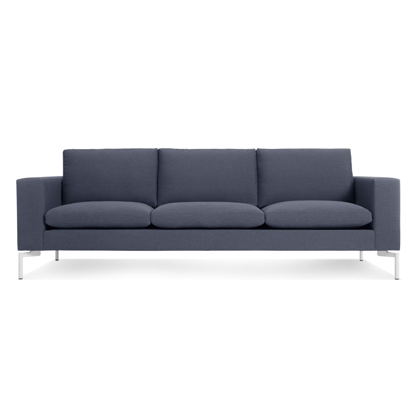 The New Standard 92 Sofa Nixon Blue White In 2020 Modern Sofa Modern Leather Sofa Sofa